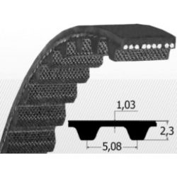 XL 200 Fogasszíj B:12mm