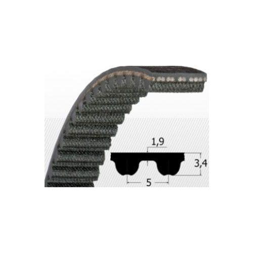 5M 255 Fogasszíj B:14mm